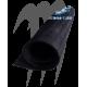 Sheet mat   Cut Diamond 100cm X 150cm (black)
