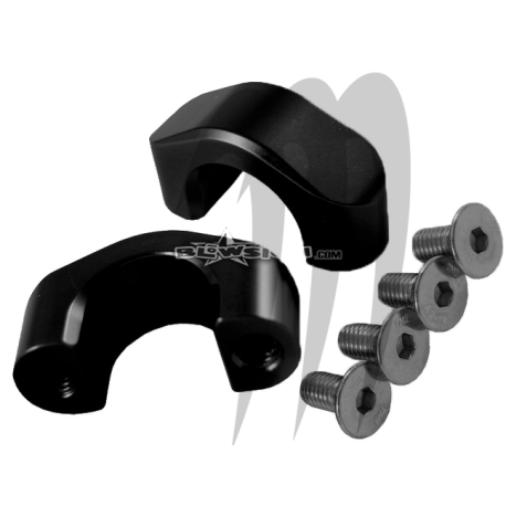 handlebar clamps   ( BLOWSION . UMI . TBM . RRP ) kit 2 piéces .