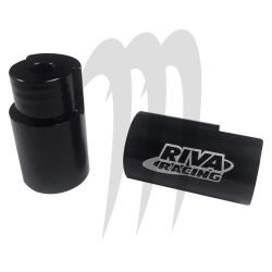 RIVA RACING. Extension de Guidon SPARK
