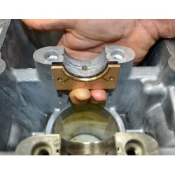 RIVA RACING. Plaque de Réparation Carter Yamaha 1.8L