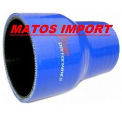 VILDER R&D. Durite (Reducteur) 76-70mm 3 X 2.75) pour pot R&D-RIVA