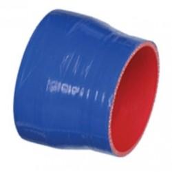 Reducteur durite renforcée diamètre 76mm X 51mm (3X2) pour pot R&D-RIVA