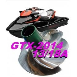 Hélice RXT 215/GTX 215/WAKE PRO Solas Riva Racing