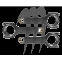 Bielles pour Seadoo RXP / RXT 300hp par Riva Racing / CP Carrillo