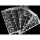 Registration kit, CARBON SILVER METAL (146 pieces)