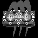 ADA. Pro Series cylinder head RACING 29cc, 701, Superjet - Blaster