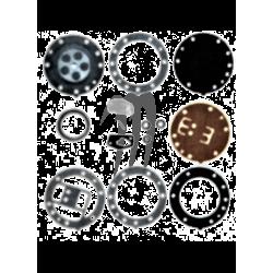 Kit réfection carburateur Mikuni Genuine Super-BN (38/44mm)