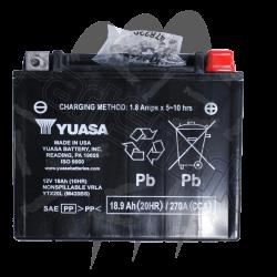 YUASA. Batterie