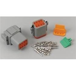 Connecteur de câblage électrique, Deutsch 16-Gauge/ 8-Pin MSD