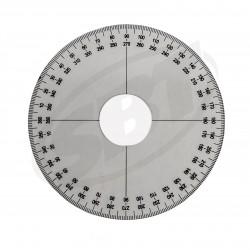 Roue à degrés de réglage de valve rotative pour Seadoo 2 temps