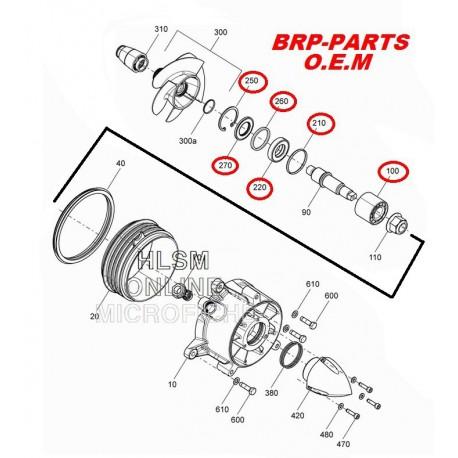 BRP. Kit turbine SPARK