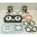 Kit de réparation complète (joints et pistons) pour jet ski Seadoo 951 en +0.75mm