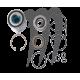 Kit roulements de turbine Sea-Doo, référence 72-113