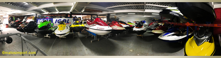 Gardiennage jet ski Matos import