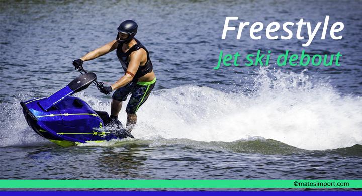 Jet ski debout freestyle
