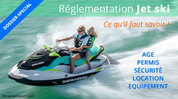Reglementation Jet ski