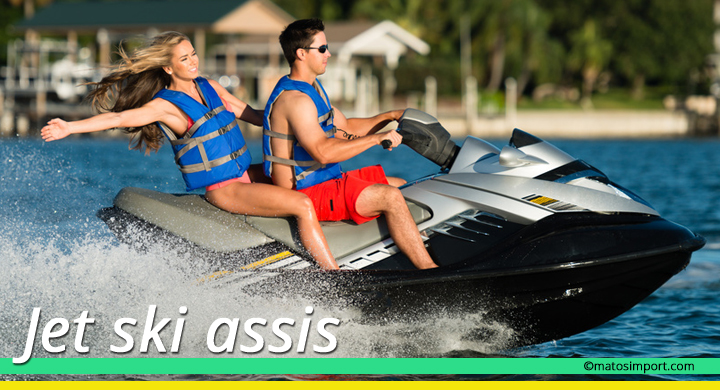 Scooter des mers : jet ski assis